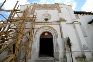 Templos afectados