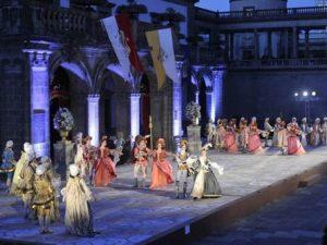 Teatro en el Castillo de Chapultepec