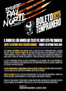 'Tecate Pa'l Norte 2020'